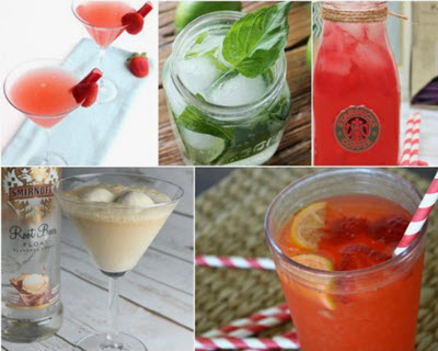 The Perfect Drinks for the 4th of July!