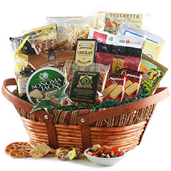 Selecting the perfect gift basket for your recipient design it gourmet gift baskets solutioingenieria Image collections