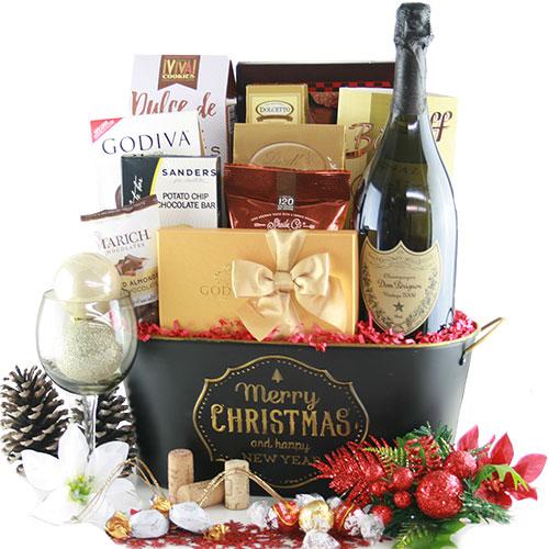 Toast the Season Champagne Gift Basket