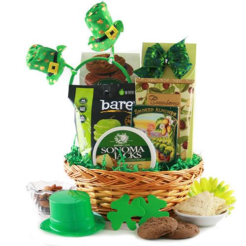 Holiday gift baskets diygb st patricks day gift baskets negle Choice Image