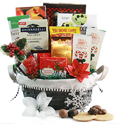12 Days of Christmas - Christmas Basket