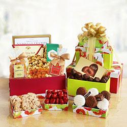 Fruitful Sweetness Gourmet Tower- Fruit Gift Tower
