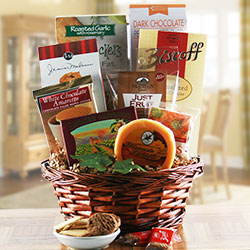 Blissful Snacking - Snack Gift Basket