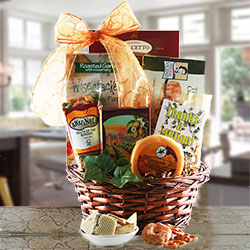 Gourmet Thank You - Thank You Gift Basket