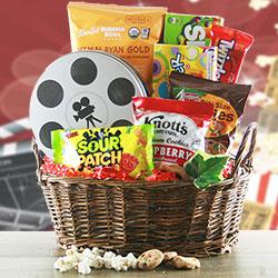 Showtime - Movie Gift Basket