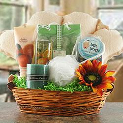 Spa Essentials - Spa Gift Basket