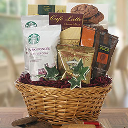 Coffee Inspirations - Coffee Gift Basket