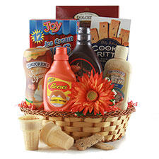 Double Scoop - Ice Cream Gift Basket