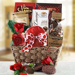 Sweet Sensation - Valentines Day Gift Basket