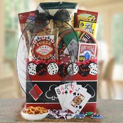 Full Boat - Poker Gift Basket