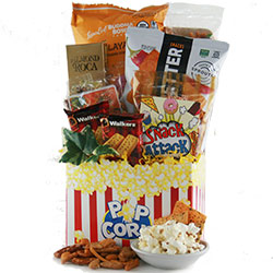 All About Snacks - Snack Gift Basket