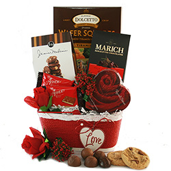 Valentines Day Gift Baskets Valentines Gift Baskets For Him