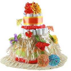 Aloha Baby - Baby Diaper Cake