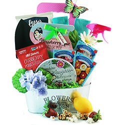 April Showers - Gardening Gift Basket