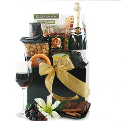 The Art of Wine - White Wine Gift Basket