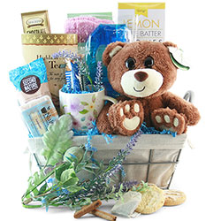 Beary Relaxing Spa Gift Baskets