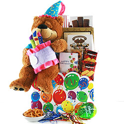 Birthday Gift Basket Surprise - Birthday Gift Basket