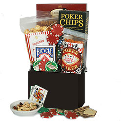 Boys Night Out - Poker Gift Basket