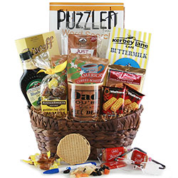 Breakfast for Dad Fathers Day Basket