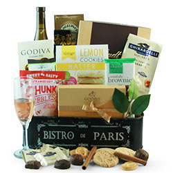 Bubbly Bliss - Wine Gift Basket