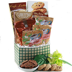 Cafe Comforts - Coffee Gift Basket
