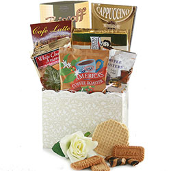 Cafe Elegance Coffee Gift Basket