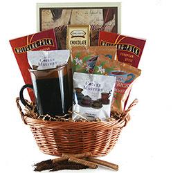 Caffiene Overload Coffee Gift Basket