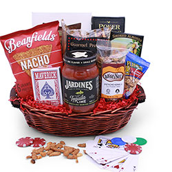 Casino Night - Poker Gift Basket