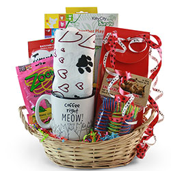 Cat and Mouse - Cat Gift Basket
