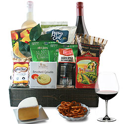 Cheers - Wine Gift Basket