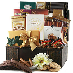 Chocolate Celebrations - Chocolate Gift Basket