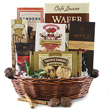 Sweet Surrender Chocolate Gift Baskets
