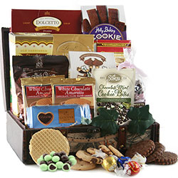 Chocolate Treasures - Chocolate Gift Basket