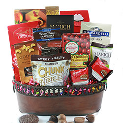 Christmas gift baskets for families groups diygb over the top chocolate chocolate gift negle Choice Image