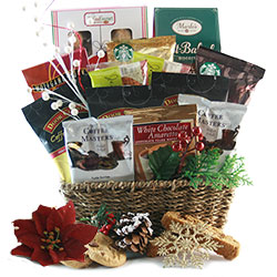 christmas coffee classic christmas gift basket
