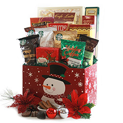Christmas Coffee Classic Christmas Baskets