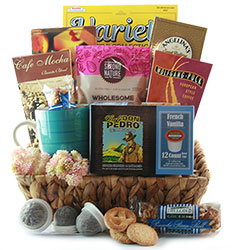 Coffee Break - K-Cup Coffee Gift Basket