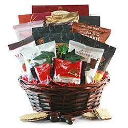 Chocolate & Coffee - Chocolate Gift Basket