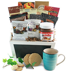 Coffee & Nutella  - Coffee Gift Basket