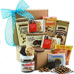 That's the way the Cookie Crumbles Cookie Gift Basket
