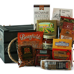 Texas gift baskets texas country gift baskets diygb cow hand texas gift basket negle Image collections