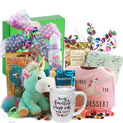 Daughters are Special - Baby Gift Basket