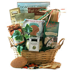 Delightfully Decadent - Gourmet Gift Basket