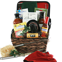 Dressed to Grill - Grilling Gift Basket