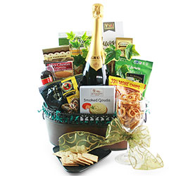 Dressed To Impress - Wine Gift Basket