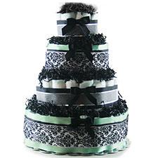 Elegant Baby - Diaper Cake