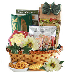 Elegant Gourmet Food Baskets