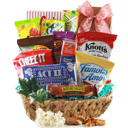 Easter gift baskets easter baskets for adults kids diygb endless edibles snack gift basket negle Gallery