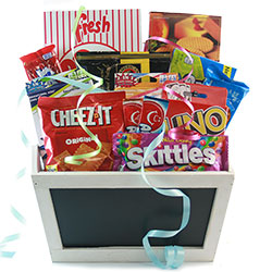 Quarantine Family Fun Gift Basket