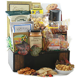 First Class Gourmet Holiday Corporate Gift Baskets